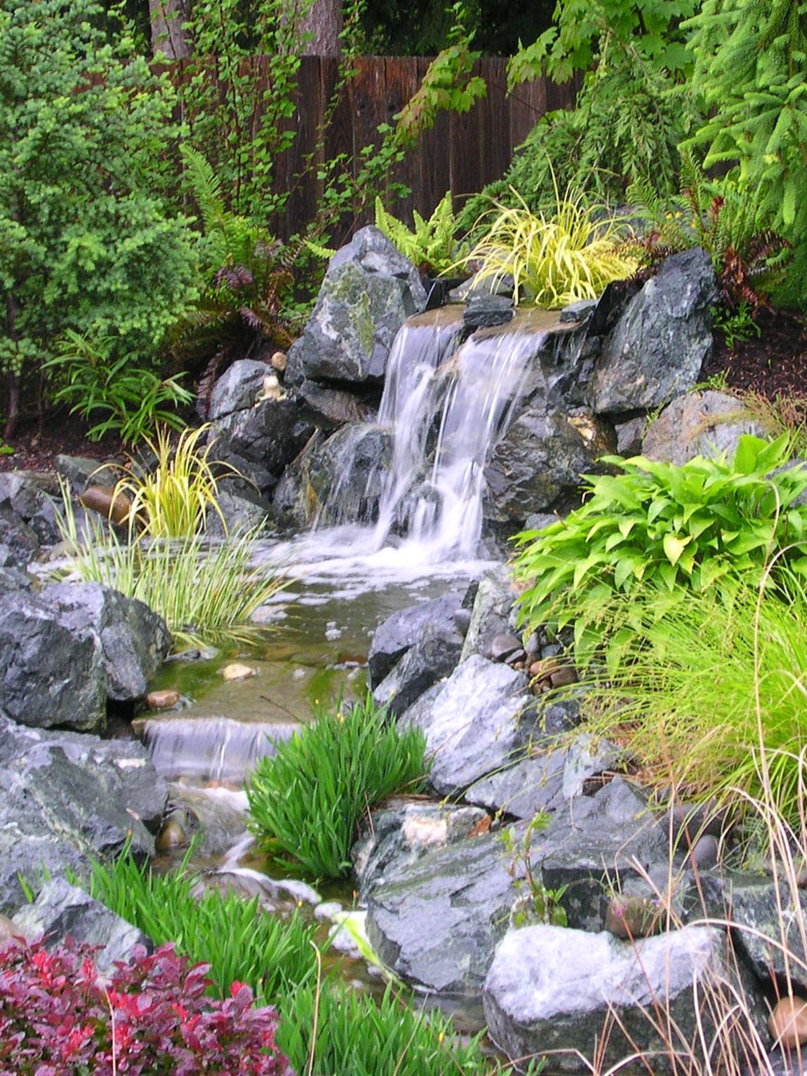 Landscaping ponds
